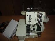 Оверлок Jasmine FN 2-4D 4-х ниточный бытовой оверлок