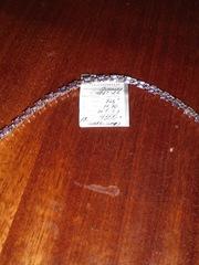 Браслет серебрянный,  камень - александрит,  длина 17 см,  3000 руб.