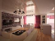Дизайн интерьеров квартир,  кафе и т.д. Низкие цены