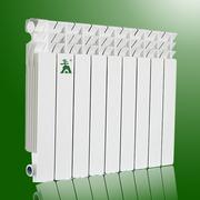 Алюминиевый радиатор отопления 250р/секция 47-88-47