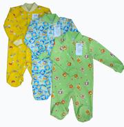Одежда для новорожденных производства фабрики Стиляги