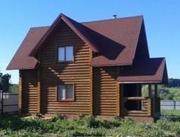 Продам новый деревянный дом с баней на берегу Камы