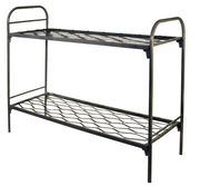 Кровати металлические двухъярусные для интернатов,  кровати оптом дешев