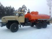 Автотопливозаправщик  АТЗ-10 на шасси Урал
