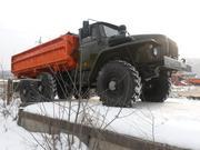 Урал 5557 самосвал сельхозник (боковая разгрузка)