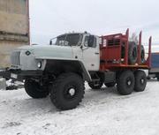 Продам Урал 43204 Лесовоз с новой площадкой