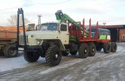 Урал 43204 Лесовоз с манипулятором Атлант-С 90