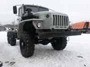 Урал 4320 Шасси после полного капитального ремонта