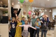 Детский день рождения в кулинарной студии Вилка.