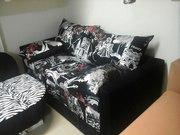Диван выкатной с подушками