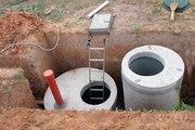 Канализация,  водопровод из жби колец,  под ключ в Удмуртии.