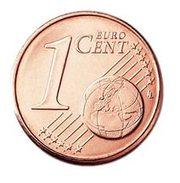 1 цент евро 2015г
