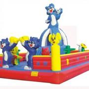 Игровой надувной батут-комплекс