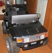 Продам детский электромобиль джип
