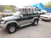 Багажник (корзина) стальной экспедиционный 220 х 120 см.